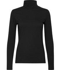 t-shirts t-shirts & tops long-sleeved svart esprit casual