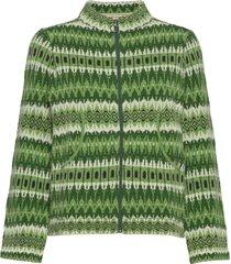 stella stickad tröja cardigan grön jumperfabriken