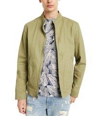 sun + stone men's donato band collar jacket, created for macy's