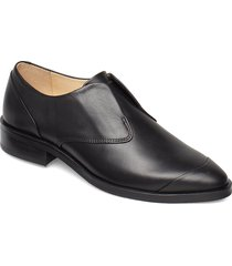 prime derby no lace loafers låga skor svart royal republiq