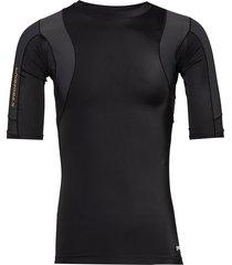 dnamic ultimate k-proprium posture mens s/s top t-shirts short-sleeved zwart skins