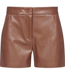 blanca vita sandra vegan leather shorts