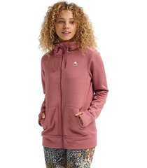 sweater burton women's oak full zip hoodie