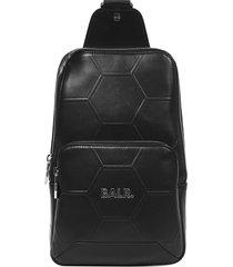 balr. hexagon aop shoulder bag