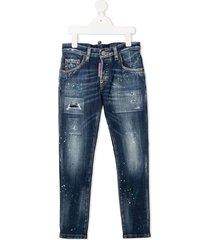 bespoten jeans