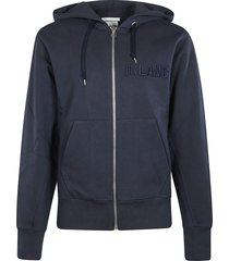 helmut lang stand zip hoodie
