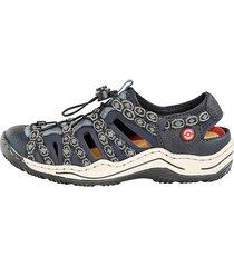 skor rieker mörkblå