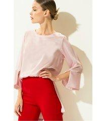 blusa rosa gold natalia brisa