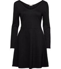 dresses knitted kort klänning svart edc by esprit