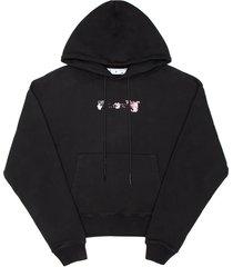 off-white acrylic arrow hoodie