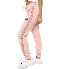 pantalón rosa adidas originals cuf pant