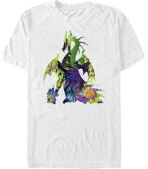 disney men's sleeping beauty maleficent dragon, short sleeve t-shirt