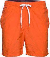 sf medium drawstring badshorts orange tommy hilfiger