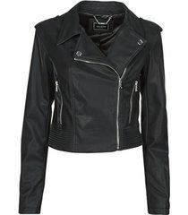 leren jas guess new khloe jacket