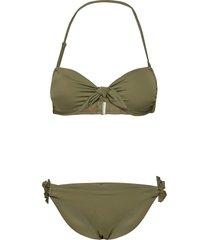 onlmia beandeau bikini set ex bikini grön only