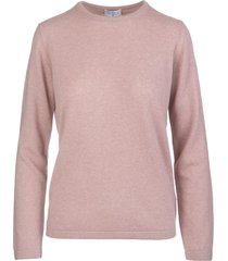 pale pink woman plutone pullover
