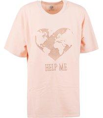 alberta ferretti help me oversized t-shirt