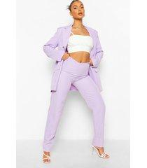 baggy broek met v-taille, lilac