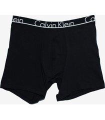 calzoncillos id cotton  boxer brief negro calvin klein