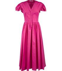 vivetta v-neck long dress