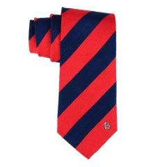 eagles wings st. louis cardinals regiment woven silk tie