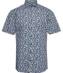 bs ferrara kortärmad skjorta blå bruun & stengade