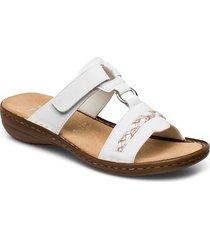 60888-00 shoes summer shoes flat sandals vit rieker