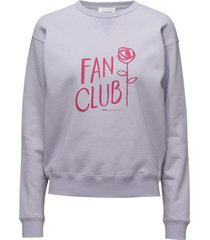 flora sweatshirt sweat-shirt trui wit wood wood