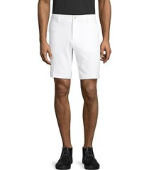 j. lindeberg men's micro stretch golf shorts - black - size 38