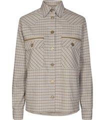 harper check jacket jakker 138980