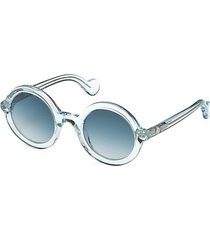 50mm clear round sunglasses