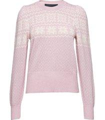 vespa winter stickad tröja rosa designers, remix