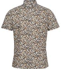 8801 - iver 2 soft st overhemd casual bruin sand