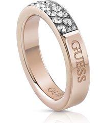 anillo guess embrance/ubr78021-54 - oro rosa