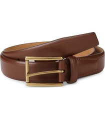 cole haan men's feather edge leather belt - british tan - size 38