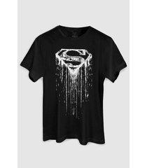 camiseta dc comics superman steel melting basic bandup!