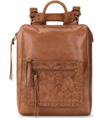 the sak loyola leather backpack