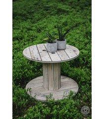 stolik kawowy ze szpuli
