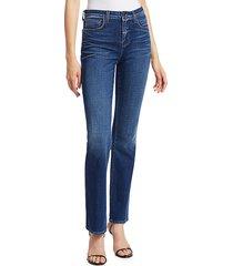 l'agence women's oriana high-rise straight-leg jeans - nova - size 23 (00)