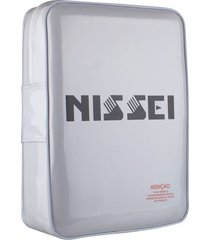 almofada térmica massageadora vibratória nissei