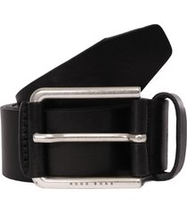 boss jily leather belt - black 50402913
