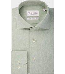 michaelis heerlijk zacht lichtkatoen/linnen shirt