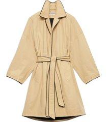 balenciaga short cocoon coat