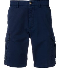 eleventy slim-fit cargo shorts - blue