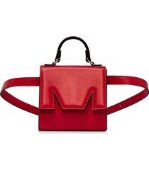 msgm designer handbags, m bum belt bag