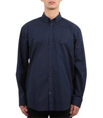 balenciaga navy shirt