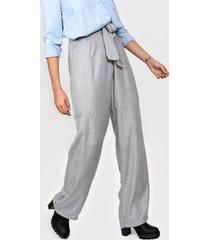 pantalón gris felisa lazo