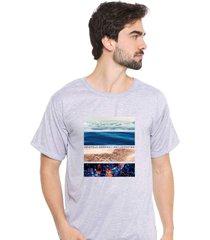 camiseta sandro clothing life cinza - cinza - masculino - dafiti