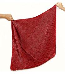 pañuelo rojo nuevas historias plisado