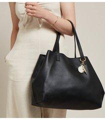 estella bartlett women's the scoresby wide tote bag - black